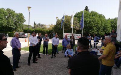 Οι Βουλευτές ΣΥΡΙΖΑ Στερεάς Ελλάδας στο πλευρό των εργαζομένων της ΛΑΡΚΟ