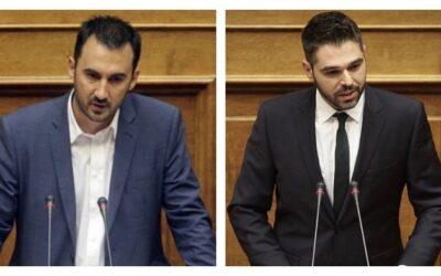 Αλ. Χαρίτσης – Γ. Σαρακιώτης: «Ο κ. Μητσοτάκης δεν έδειξε τη φωτογραφία όσων οδήγησαν τους νέους εκτός Ελλάδας»