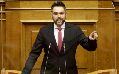 Γ. Σαρακιώτης στη Βουλή: «Αποκτήστε επαφή με την πραγματικότητα – Εξασφαλίστε ρευστότητα για τις μικρομεσαίες επιχειρήσεις»