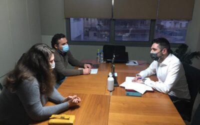 Συνάντηση Γιάννη Σαρακιώτη με εκπροσώπους των παραγωγών και των επαγγελματιών λαϊκών αγορών