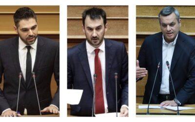 Αλ. Χαρίτσης – Γ. Σαρακιώτης – Χ. Μαμουλάκης: «Η απουσία κυβερνητικών πρωτοβουλιών οδηγεί το νόμο για τις μικροχρηματοδοτήσεις σε αδράνεια»