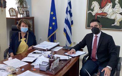 Στην Περιφερειακή Διεύθυνση Εκπαίδευσης ο Γιάννης Σαρακιώτης εν όψει της νέας σχολικής χρονιάς