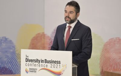 Ομιλητής στο Συνέδριο για τη Διαφορετικότητα στις Ελληνικές Επιχειρήσεις ο Γιάννης Σαρακιώτης